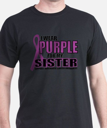 Pancreatic Cancer: Sister T-Shirt