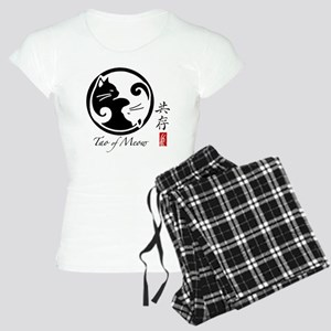 yin-yang-cats Women's Light Pajamas