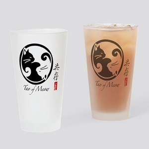 yin-yang-cats Drinking Glass