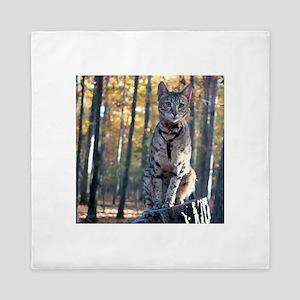 Cat Woods - Queen Duvet