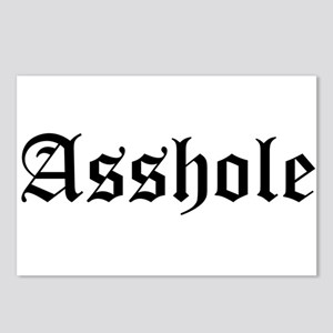 Asshole Postcards (Package of 8)