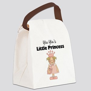 little princess 2 Canvas Lunch Bag