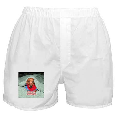 I Dont Do Mornings Boxer Shorts
