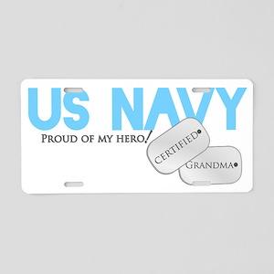 certifiedNgma Aluminum License Plate