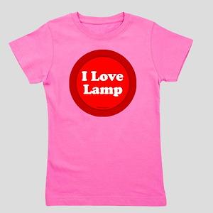 btn-love-lamp Girl's Tee
