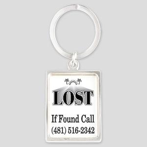 if found 1crop Portrait Keychain
