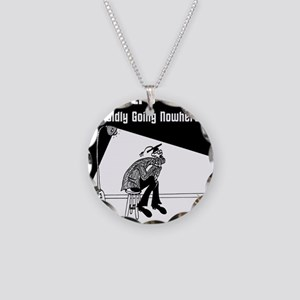 6537_philosophy_cartoon Necklace Circle Charm