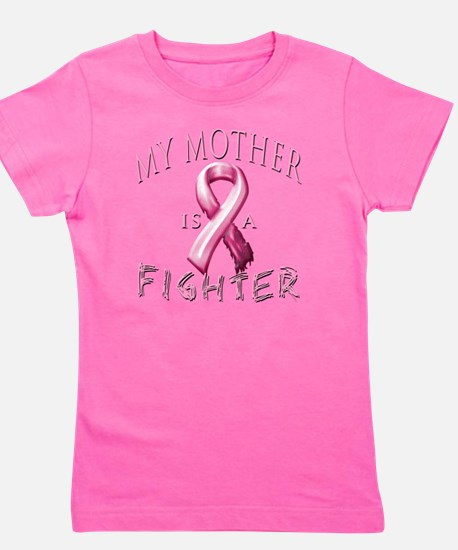 My Mother is a Fighter Pink Girl's Tee