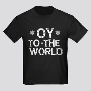 OY to the world Kids Dark T-Shirt