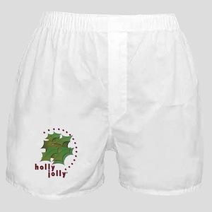 Holly Jolly Boxer Shorts