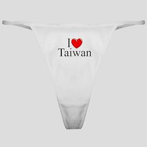 """I Love Taiwan"" Classic Thong"