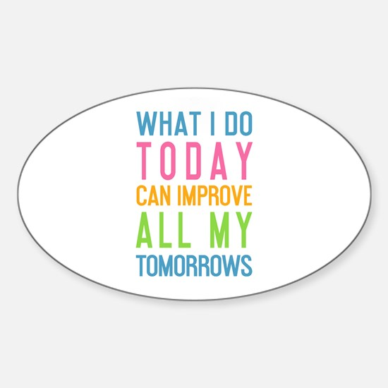 Unique Motivation Sticker (Oval)