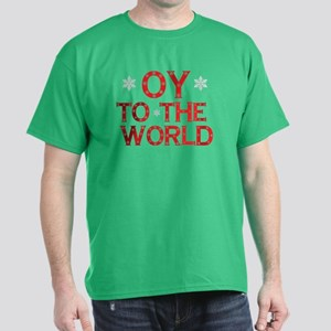 OY to the world Dark T-Shirt