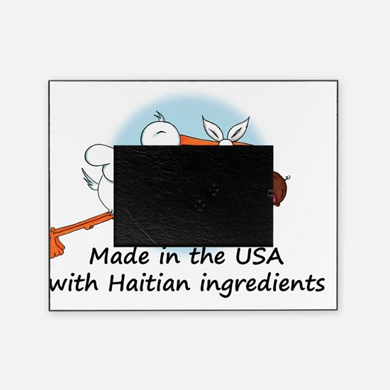 stork baby haiti 2 Picture Frame