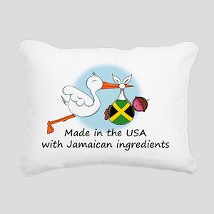 stork baby jam 2 Rectangular Canvas Pillow