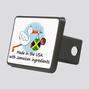 stork baby jam 2 Rectangular Hitch Cover