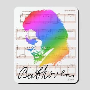 BEETHOVEN RAINBOW Mousepad