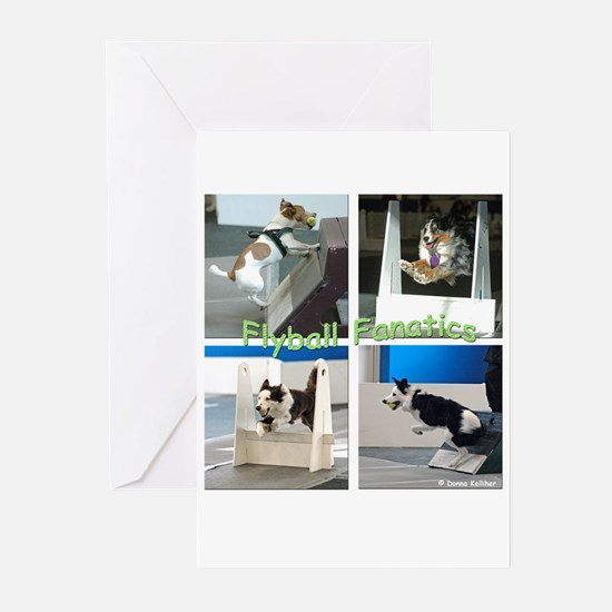 Flyball Greeting Cards (Pk of 10)