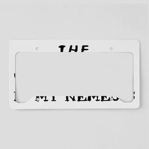 nemesis janitor License Plate Holder