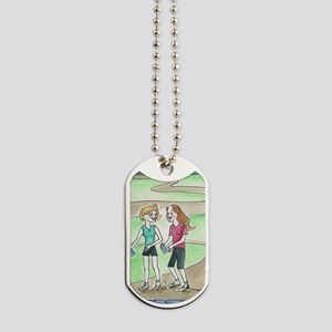 Friendly Walk Dog Tags
