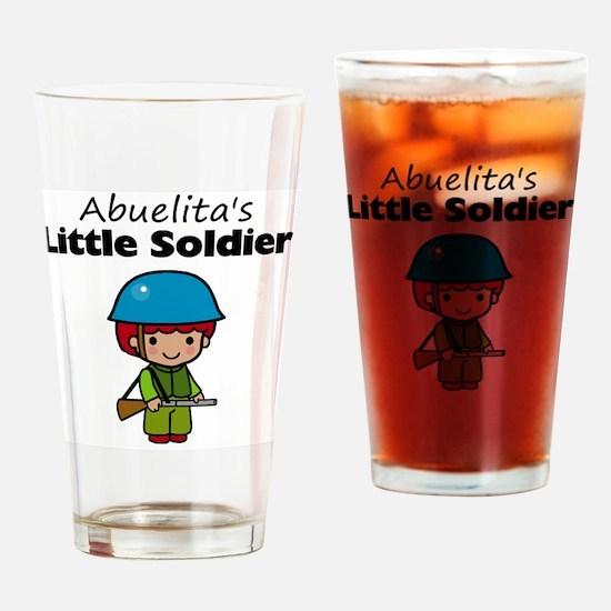 little soldier boy Drinking Glass
