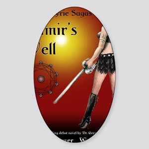 Mimirs Well small poster Sticker (Oval)