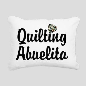 quilting Rectangular Canvas Pillow