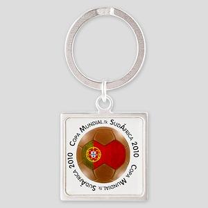 portugal lg white Square Keychain