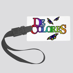 DeColores Large Luggage Tag