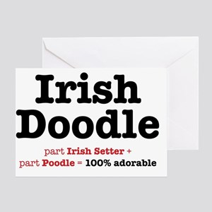 irishdoodle Greeting Card