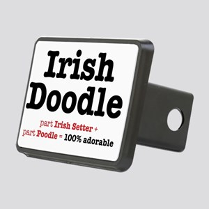 irishdoodle Rectangular Hitch Cover