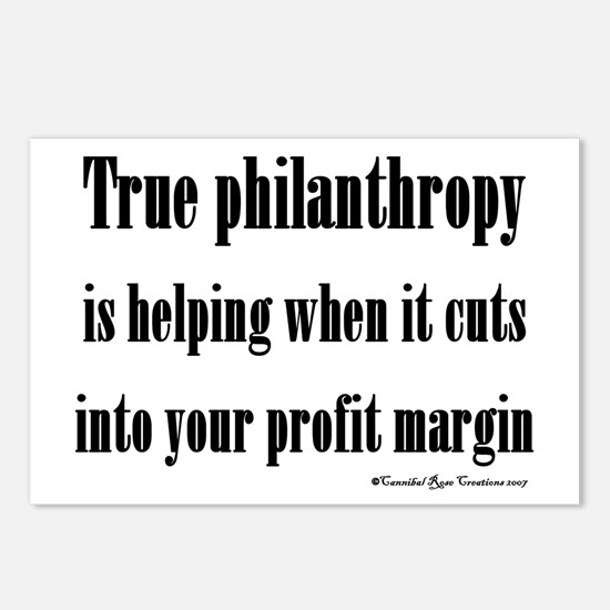 True Philanthropy Postcards (Package of 8)