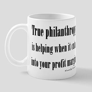 True Philanthropy Mug