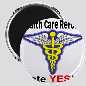 health_care_reform_YES_transparent_red Magnet