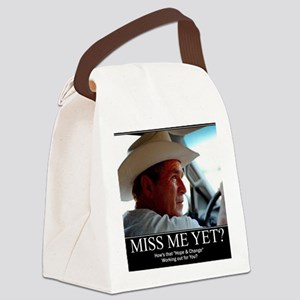 GEORGE-W-HOPE Canvas Lunch Bag