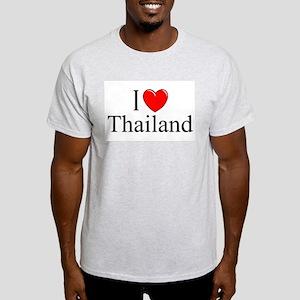 """""""I Love Thailand"""" Ash Grey T-Shirt"""