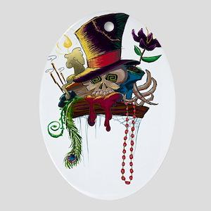 voodoo_shelf Oval Ornament