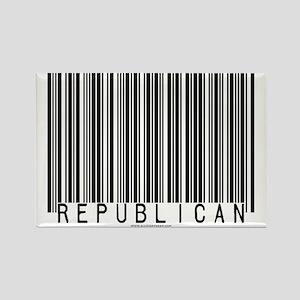 Republican Barcode Rectangle Magnet