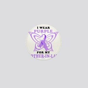 I Wear Purple for my Mother-In-Law Mini Button