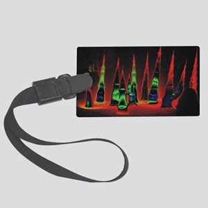 Neon redtips 10x14 Large Luggage Tag