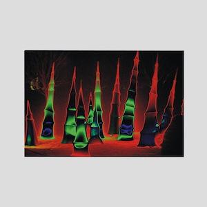 Neon redtips 6x4 Rectangle Magnet