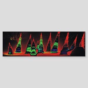 Neon redtips 14x6 Sticker (Bumper)