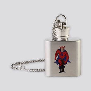 2-hero color Flask Necklace