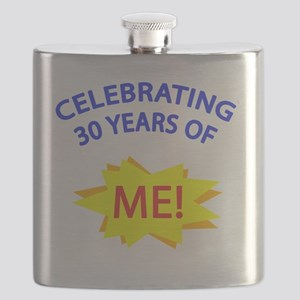 CelebratingMeBlue 30 Flask