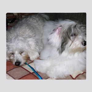 Rough Day Coton Throw Blanket