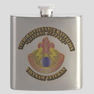 Army - 79th Maintenance Bn Flask