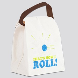 How I Roll -dk Canvas Lunch Bag