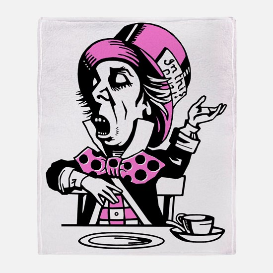 mad-hatter Throw Blanket
