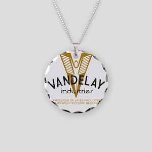 VandelayIdFaded Necklace Circle Charm