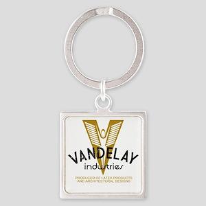 VandelayIdFaded Square Keychain